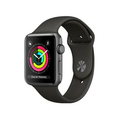 Apple Watch Nike+ Series 3 (GPS) - aluminio gris espacial - reloj inteligente con pulsera deportiva - gris - 8 GB