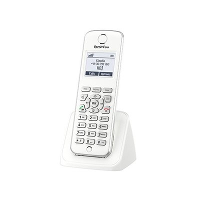 AVM FRITZ!Fon M2 - auricular de extensión inalámbrica - radio internet con ID de llamadas/llamada en espera