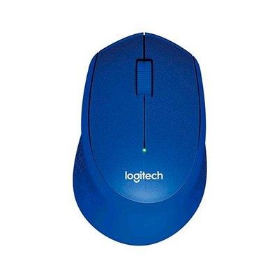 Logitech M330 SILENT PLUS - ratón - 2.4 GHz - azul