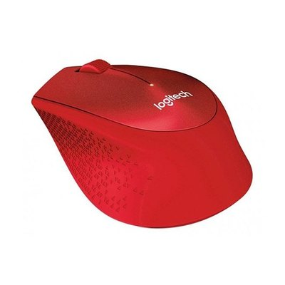 Logitech M330 SILENT PLUS - ratón - 2.4 GHz - rojo