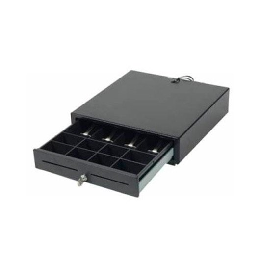 TPV cajon portamonedas negro 41x42 Mustek HSP-410N