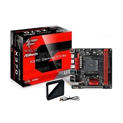ASRock Fatal1ty X370 Gaming-ITX/ac - placa base - mini ITX - Socket AM4 - AMD X370