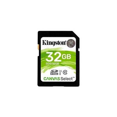 Kingston Canvas Select - tarjeta de memoria flash - 32 GB - SDHC UHS-I
