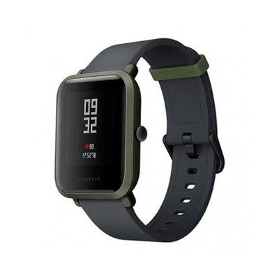 Amazfit Bip - verde kokoda - reloj inteligente con correa - negro