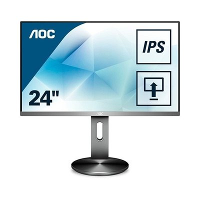 AOC I2490PXQU/BT - monitor LED - Full HD (1080p) - 23.8""