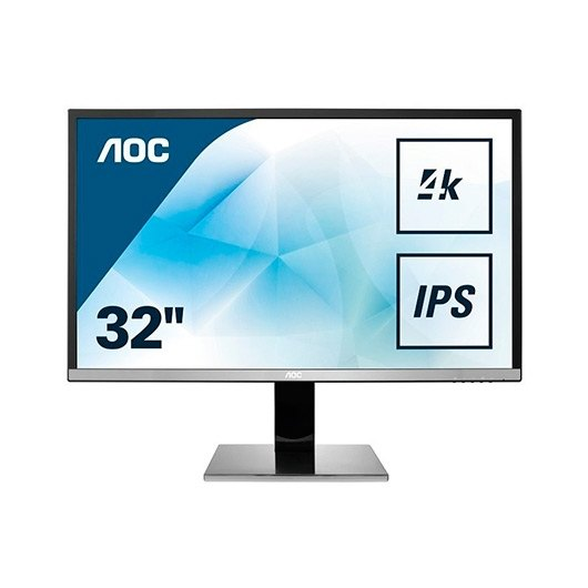 "Monitor Led 31.5"" AOC U3277PWQU negro"