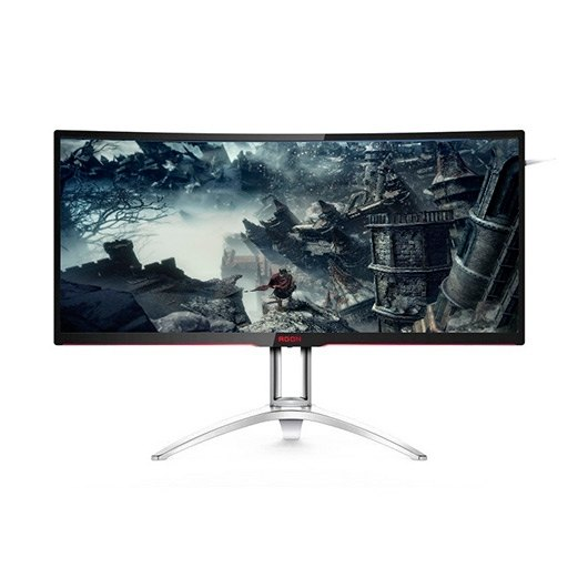"Monitor Led 35"" AOC AG352QCX gaming curvo negro"
