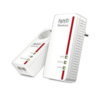 AVM FRITZ!Powerline 1260E - WLAN Set - puente - 802.11a/b/g/n/ac - conectable en la pared