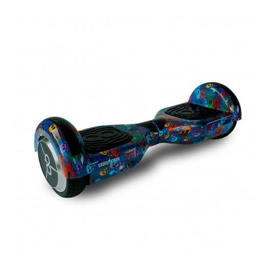 Hoverboard Skateflash K6+SKULLB calavera scooter