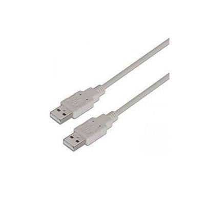CABLE USB AISENS A101-0022 - TIPO A MACHO-MACHO - 2M - BEIGE