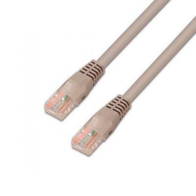 Cable de red RJ45 Cat.5e UTP AWG24. gris. 1.5 metros