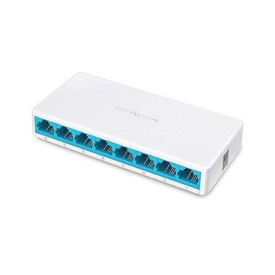 Switch mercusys ms108 8 puertos -  10 - 100mbps -  rj45