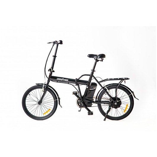 "Bicicleta electrica 20"" SKATEFLASH color negro"
