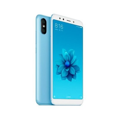 Xiaomi MI A2 - azul lago - 4G HSPA+ - 64 GB - GSM - smartphone