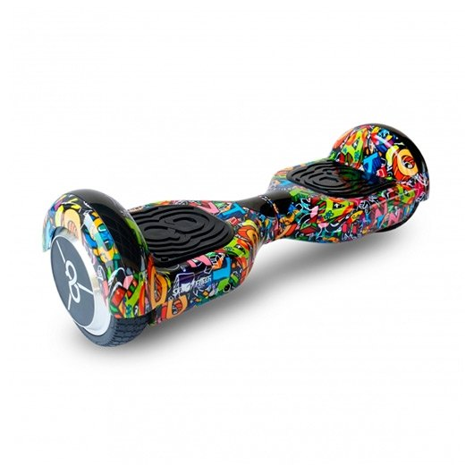 Hoverboard Skateflash K6+HIPHOP grafiti