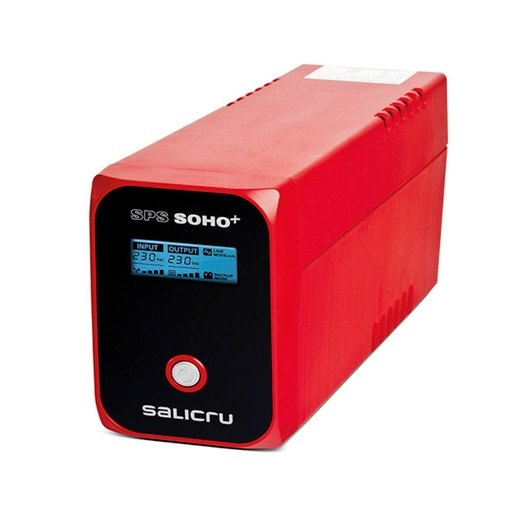 Sai/Ups 1200Va Salicru Sps 1200 Soho+ 3Xschuko Interac