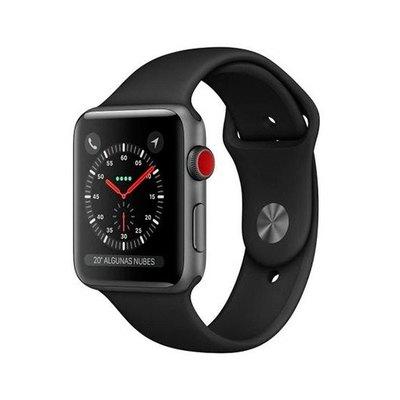 Apple Watch Series 3 (GPS + Cellular) - aluminio gris espacial - reloj inteligente con pulsera deportiva - negro - 16 GB - sin especificar