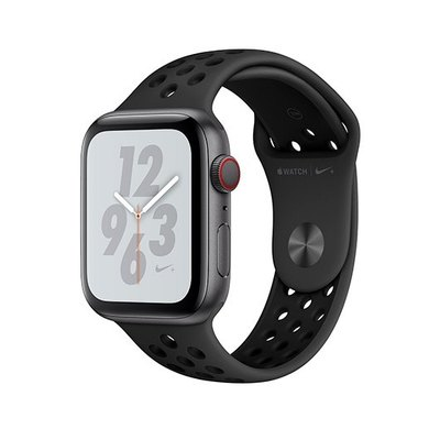 Apple Watch Nike+ Series 3 (GPS + Cellular) - aluminio gris espacial - reloj inteligente con pulsera deportiva Nike - antracita/negro - 16 GB - sin es