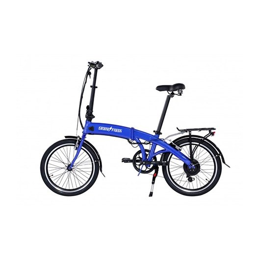"Bicicleta electrica 20"" Skateflash Pro color azul"