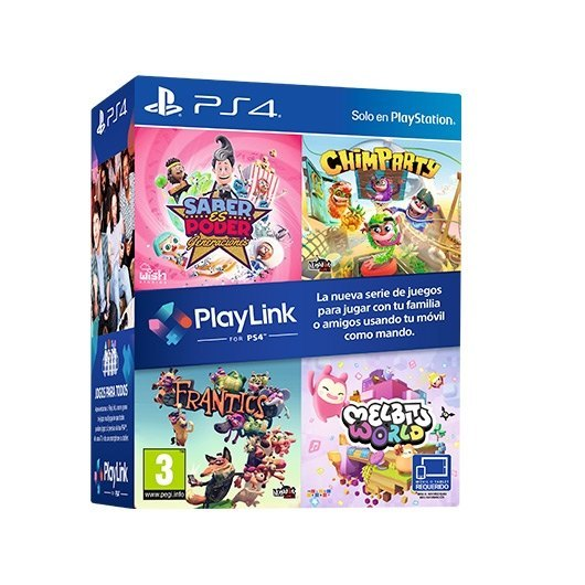PACK 4 JUEGOS SONY PS4 PLAYLINK