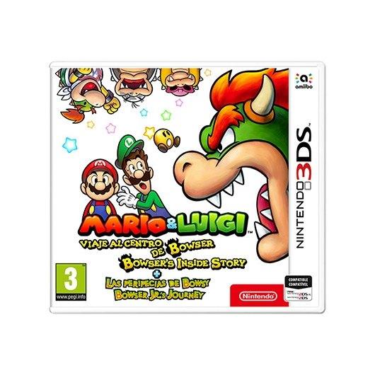 Juego Nintendo 3ds Mario Luigi Peripecias De Bowsy