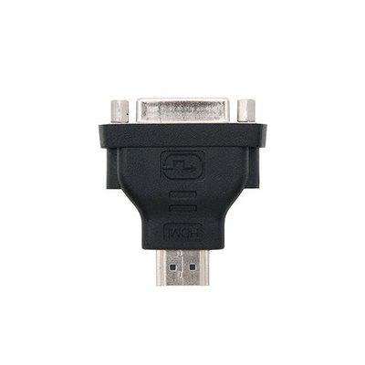 ADAPTADOR HDMI Macho / DVI-D 24+1 Hembra