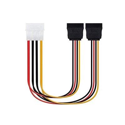 Cable SATA Alimentación.16cm OEM