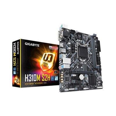 Placa base gigabyte intel h310m s2h 2.0 socket 1151 ddr4x2 2666mhz max 32gb d - sub hdmi dvi - d micro atx