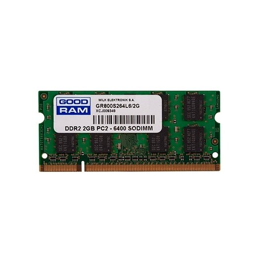MODULO MEMORIA RAM S/O DDR2 2GB PC800 GOODRAM RETAIL