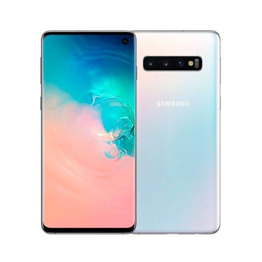 MOVIL SMARTPHONE SAMSUNG GALAXY S10 G973F DS 128GB BLANCO E