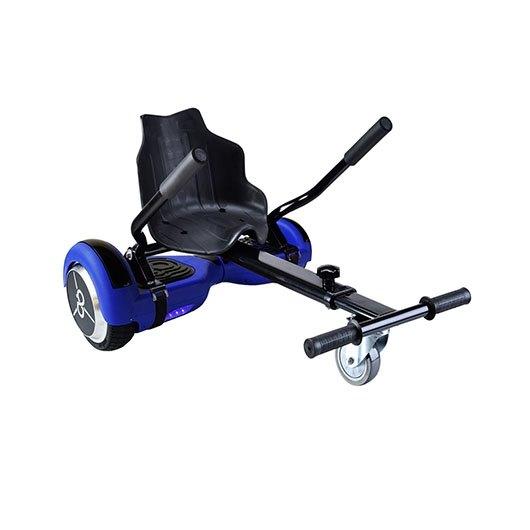 Pack Hoverboard K6+BLUE + H. Kart Grafiti Skateflash
