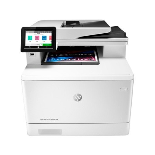 Impresora HP multifuncion Laserjet Color M479FNW