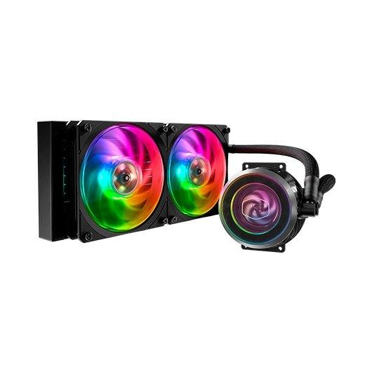 Cooler Master MasterLiquid ML240P Mirage RGB Wasserkühlung für Intel und AMD CPU
