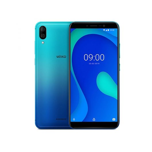 Movil Smartphone Wiko Y80 CAR16 2GB 16GB azul turquesa