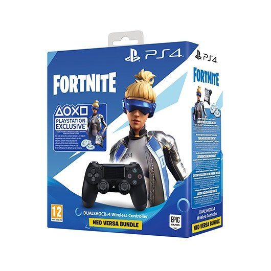 Gamepad Sony PS4 Dualshock black V.2 + FORTNITE