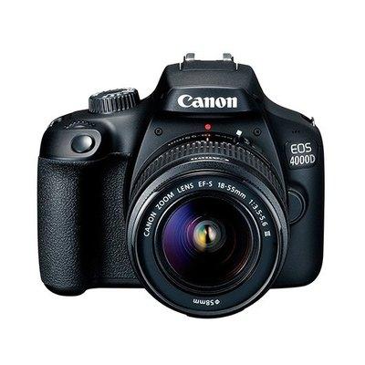 Canon EOS 4000D - cámara digital lente EF-S DC III de 18-55 mm