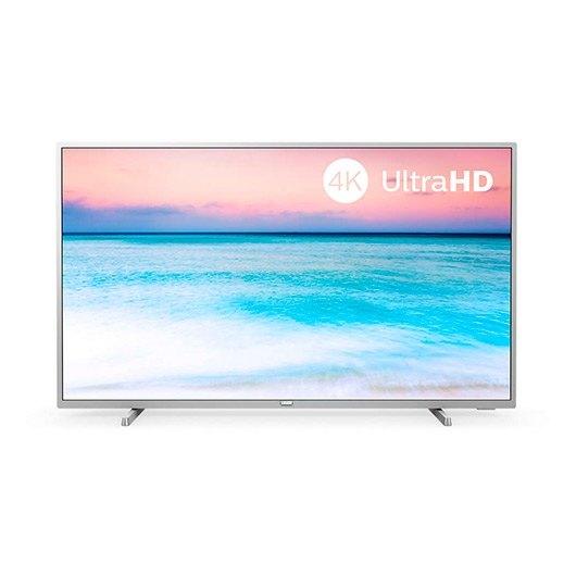 "TV Led 50"" Philips 50PUS6554 4K UHD Saphi plata"
