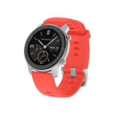 Amazfit GTR reloj inteligente con correa - rojo coral