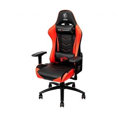 MSI MAG CH120 - silla - poliuretano, acero, piel PVC, espuma modelada de alta densidad - negro