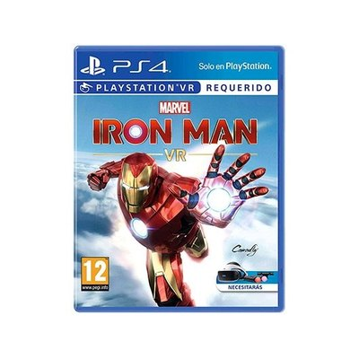 JUEGO SONY PS4 MARVEL S IRON MAN VR