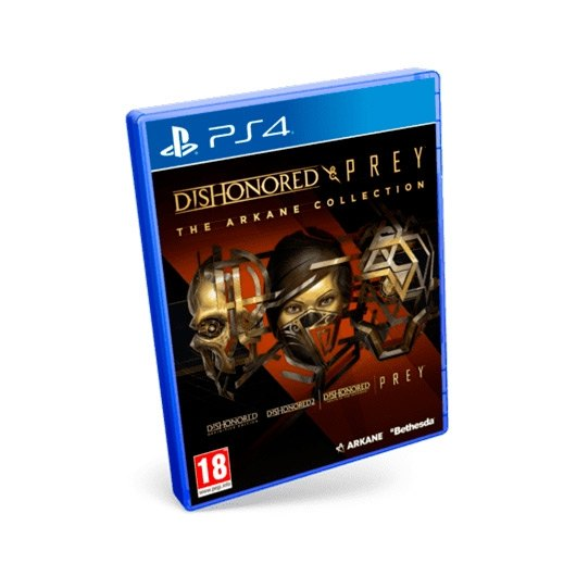 JUEGO SONY PS4 DISHONORED   PREY: THE ARKAME COLLECTION
