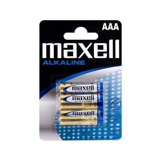 Pila Alcalina Maxell Lr03 Aaa (pack 4)