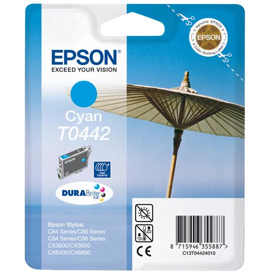 CARTUCHO ORIG EPSON T0442 CYAN