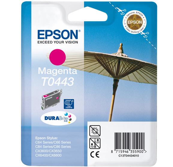 CARTUCHO ORIG EPSON T0443 MAGENTA