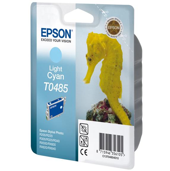 CARTUCHO ORIG EPSON T0485 LIGHT CYAN