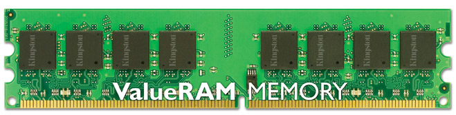 MODULO DDR2 2GB PC800 KINGSTON RETAIL