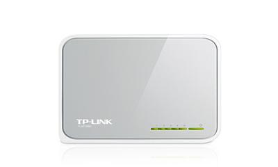 TP-Link TL-SF1005D 5-Port 10/100Mbps Desktop Switch - conmutador - 5 puertos