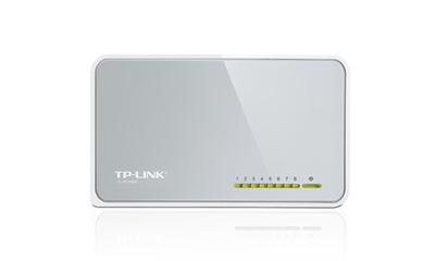 TP-Link TL-SF1008D 8-Port 10/100Mbps Desktop Switch - conmutador - 8 puertos