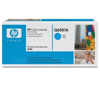 HP 124A - cián - original - LaserJet - cartucho de tóner (Q6001A)